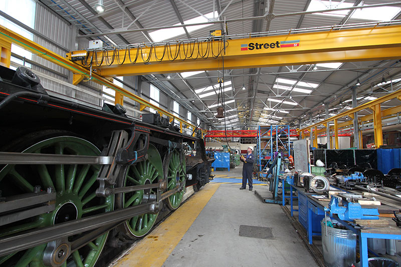 new crane for crewe based locomotive storage limited
