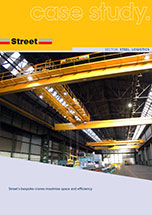 cranes for manufacturing steel