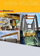 cranes for rail manufacturing and railway construction